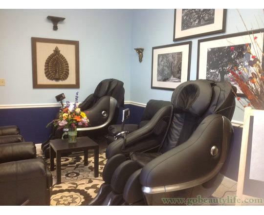 luxury massage chairs in salon beauty life salon equipment co ltd
