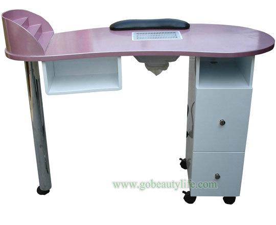 Double Nail Art Table Bl N485 Beauty Life Salon Equipment